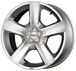 Автомобильный диск Литой MAK X-Force 7x17 6/139,7 ET 20 DIA 112 Hyper Silver