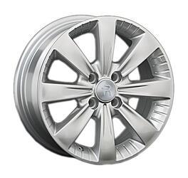 Автомобильный диск литой Replay LF3 6x15 4/100 ET 45 DIA 54,1 Sil