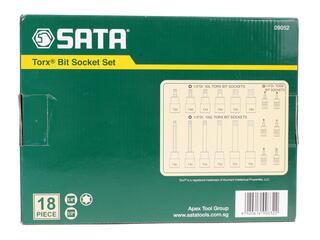Набор торцевых головок Sata 09052