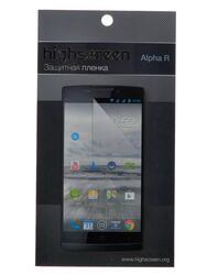 "5""  Пленка защитная для смартфона Highscreen Alpha R"