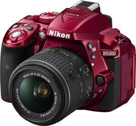 Зеркальная камера Nikon D5300 Kit 18-55mm VR II красный