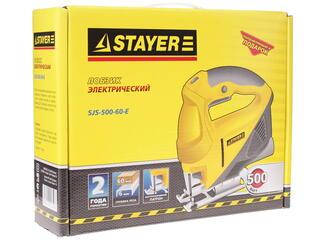Электрический лобзик STAYER SJS-500-60-E
