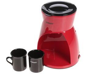 Кофеварка Scarlett SC-CM33001 красный
