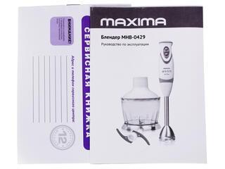 Блендер Maxima MHB-0429 белый