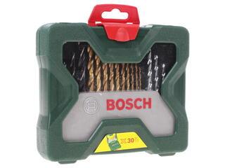 Набор сверл и насадок-бит Bosch X-Line Titanium 2607019324