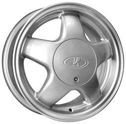 Автомобильный диск Литой K&K 5 Спиц 5,5x14 4/98 ET 35 DIA 58,6 Сильвер