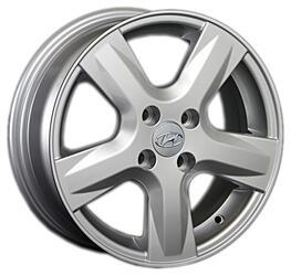 Автомобильный диск литой Replay HND117 6x15 4/100 ET 48 DIA 54,1 Sil