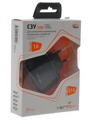 Сетевое зарядное устройство Vertex Slim Line TC2USBUNIVB