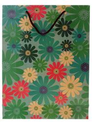 Пакет подарочный Цветные ромашки