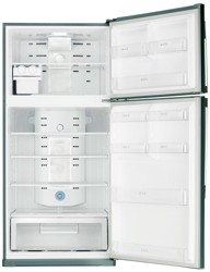 Холодильник с морозильником Samsung RT72SBSL серебристый