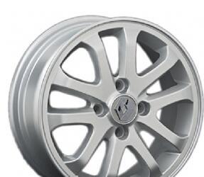 Автомобильный диск Литой Replay RN101 5,5x14 4/100 ET 43 DIA 60,1 Sil