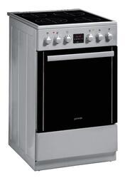 Электрическая плита Gorenje EC57325AX серебристый, черный