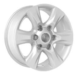 Автомобильный диск литой Replay TY68 7x16 6/139,7 ET 30 DIA 106 Sil