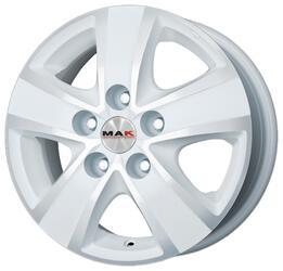 Автомобильный диск литой MAK Fuoco 5 6,5x16 5/118 ET 68 DIA 71,1 Ice White