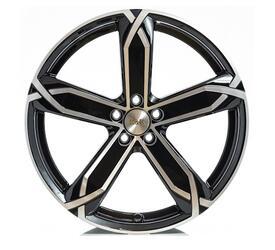 Автомобильный диск литой K&K X-fighter 6x15 5/100 ET 40 DIA 57,1 Алмаз черный