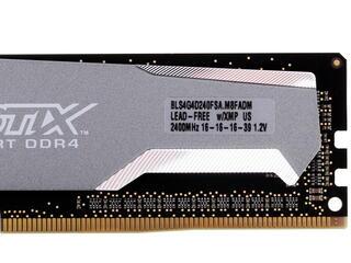 Оперативная память Crucial Ballistix Sport [BLS4C4G4D240FSA] 16 ГБ
