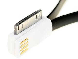 Кабель Solomon USB - 30-pin черный