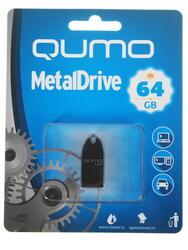 Память USB Flash Qumo MetalDrive 64 Гб