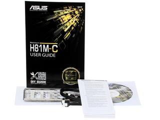 Материнская плата ASUS H81M-C