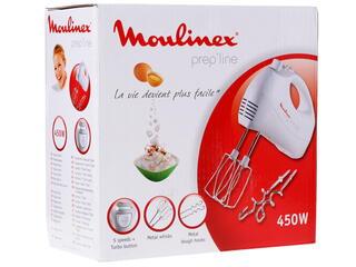 Миксер Moulinex HM 4101 Prepline белый