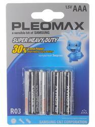 Батарейка Samsung Pleomax R03-4BL