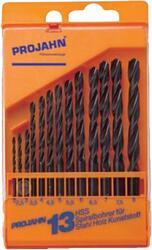 Набор сверл Projan 13 HSS Typ N 2-8/0.5 мм