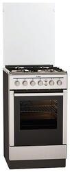 Газовая плита AEG 31645G9-MN серебристый, коричневый