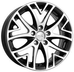 Автомобильный диск Литой K&K Рефлекс 6x15 5/100 ET 38 DIA 67,1 Алмаз черный