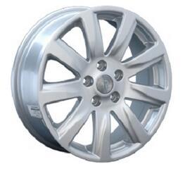 Автомобильный диск литой Replay NS18 7x17 5/114,3 ET 55 DIA 66,1 Sil