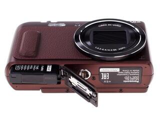 Компактная камера Panasonic Lumix DMC-TZ57 коричневый