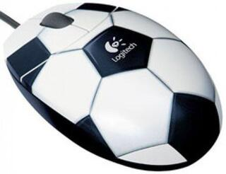 Мышь проводная Logitech Football Mouse