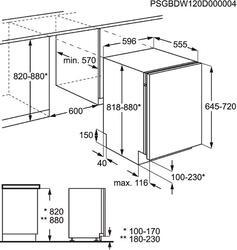 Встраиваемая посудомоечная машина Electrolux ESL6200LO
