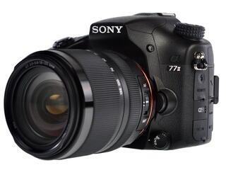 Зеркальная камера Sony Alpha SLT-A77M2M Kit 18-135mm черный