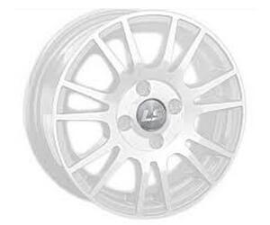 Автомобильный диск Литой LS 307 6x15 4/98 ET 32 DIA 58,6 White