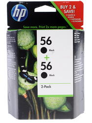 Набор картриджей HP 56 (C9502AE)