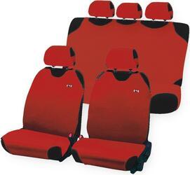 Чехол на сиденье майка в комплекте H&R PERFECT PLUS эластик, красный