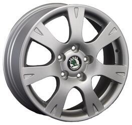 Автомобильный диск литой Replay SK21 6,5x16 5/112 ET 50 DIA 57,1 Sil