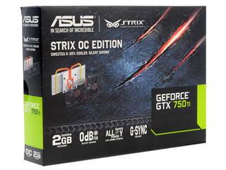 Видеокарта ASUS GeForce GTX 750 Ti [STRIX-GTX750TI-OC-2GD5]
