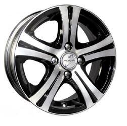 Автомобильный диск Литой K&K Стрела 5,5x14 4/100 ET 40 DIA 67,1 Алмаз черный