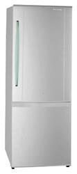 Холодильник с морозильником Panasonic NR-B591BR-W4 серебристый