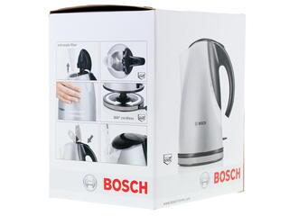 Электрочайник Bosch TWK 7706 серебристый