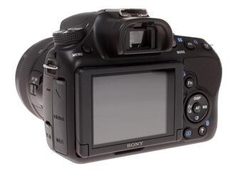 Зеркальная камера Sony Alpha SLT-A58K Kit 18-55mm черный
