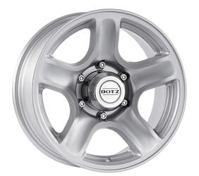 Автомобильный диск Литой Dotz Hammada 8,5x18 5/139,7 ET 0 DIA 110