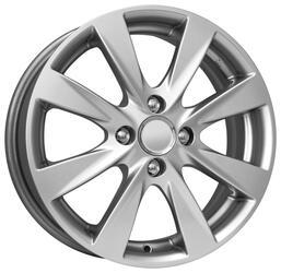 Автомобильный диск Литой K&K КС581 6x15 4/100 ET 48 DIA 54,1 Сильвер