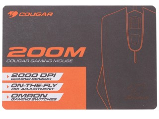 Мышь проводная Cougar 200M Black