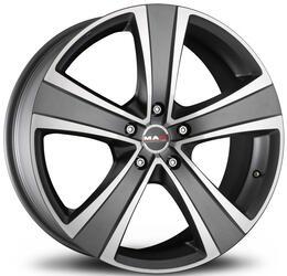 Автомобильный диск Литой MAK Fuoco 5 8,5x19 5/120 ET 50 DIA 65,1 Ice Titan