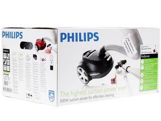 Пылесос Philips FC9174/02 красный