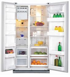 Холодильник Samsung RS21HNTRS серебристый