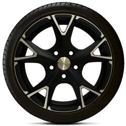 Автомобильный диск Литой Скад Орлан 5,5x14 4/100 ET 45 DIA 56,6 Алмаз матовый