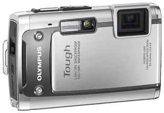 Цифровая камера Olympus TG-610 Silver (14.0MPix 4288x3216 5xZoom SD/SDHC Li-50B HyperCrystal III 3.0')